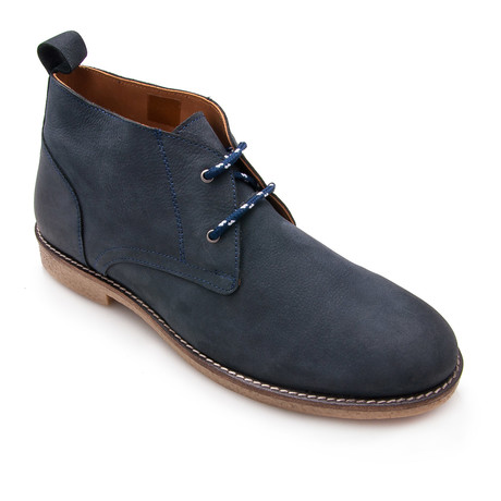 Javier Ankle Boot // Navy Blue (Euro: 40)