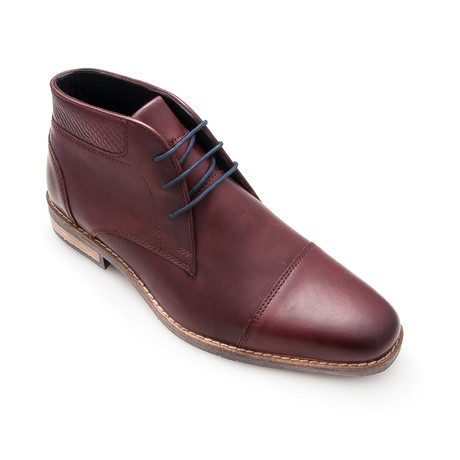 Antonio Ankle Boot // Bordeaux (Euro: 40)