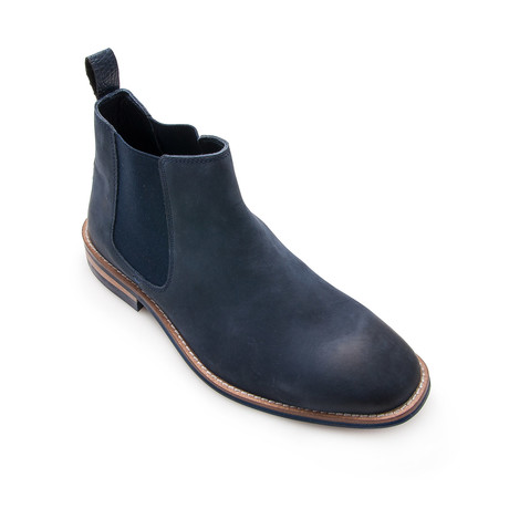 Connor Ankle Boot // Navy Blue (Euro: 40)