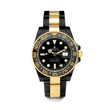Rolex GMT Master II Automatic // 116713 // Pre-Owned PVD-Coated