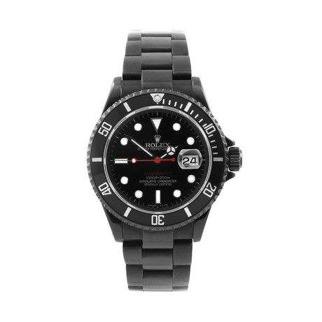 Rolex Submariner Automatic // 16610 // Pre-Owned PVD-Coated