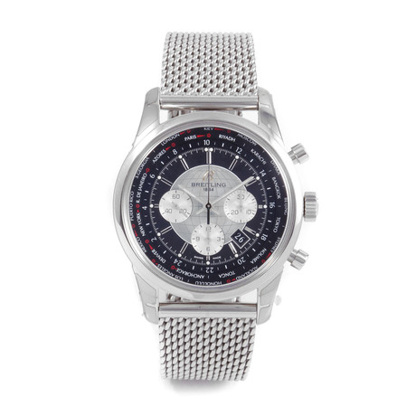 Breitling Transocean Unitime Pilot Chronograph Automatic // AB0510 // Pre-Owned