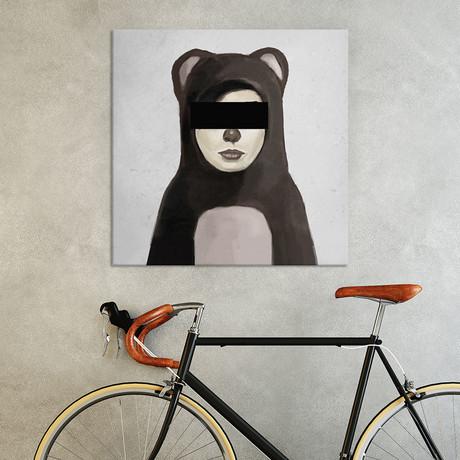 """Fake Bear (18""""W x 18""""H x 0.75""""D)"""