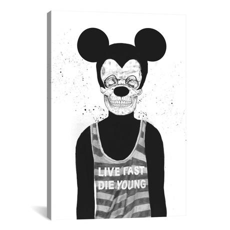 """Dead Mouse (26""""W x 18""""H x 0.75""""D)"""