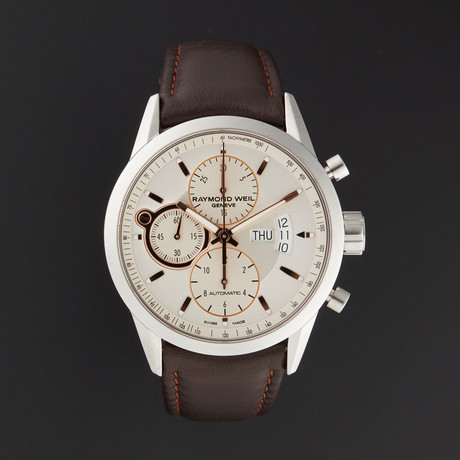 Raymond Weil Freelancer Chronograph Automatic // 7730-STC-65025 // Store Display