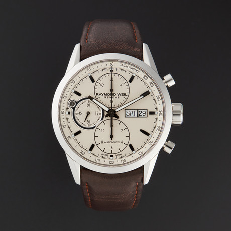 Raymond Weil Freelancer Chronograph Automatic // 7730-STC-65112 // Store Display!