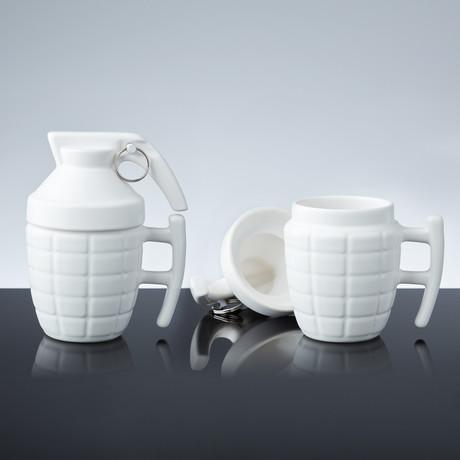 Grenade Mug // Set of 2