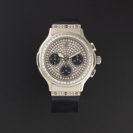 Hublot WG Classic Elegant Chronograph Automatic // 1610.4 // Pre-Owned