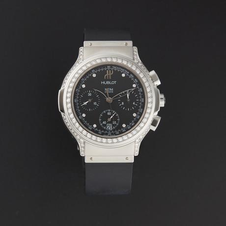 Hublot Elegant Chronograph Diamond Quartz // 1640.144.1.024 // New