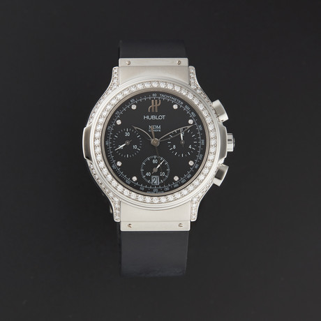 Hublot Elegant Chronograph Diamond Quartz // 1640.144.1.024 // New