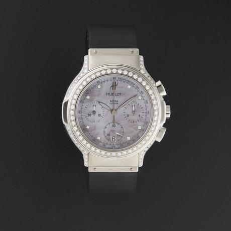Hublot Midsize Chronograph Diamond Quartz // 1640.844M.1.024 // New