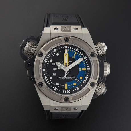 Hublot King Power Oceanographic Automatic // 732.NX.1127.RX // New