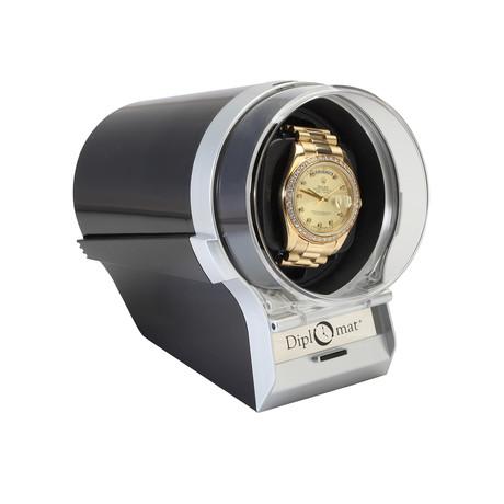 Single Cadet Watch Winder (Black)