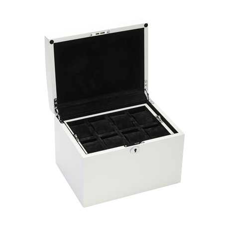 16 Watch Storage Case (White Wood)