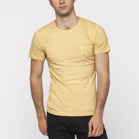 X-Ram-L'Uomo // Satyr Slim Fit T-Shirt // Mustard