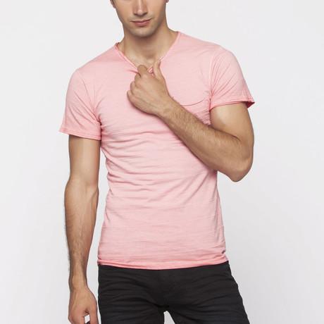 X-Ram-L'Uomo // Orion Slim Fit T-Shirt // Pomegranate