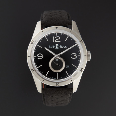Bell & Ross Vintage Automatic // BRV123-95-SS // Store Display