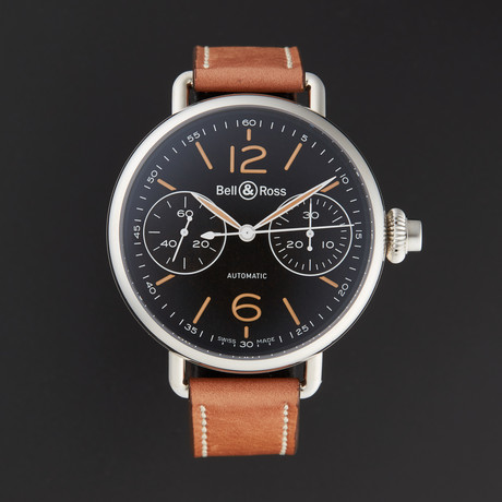 Bell & Ross WW1 Chrono Monopoussoir Heritage Automatic // BRWW1-MONO-HER/SCA // Store Display