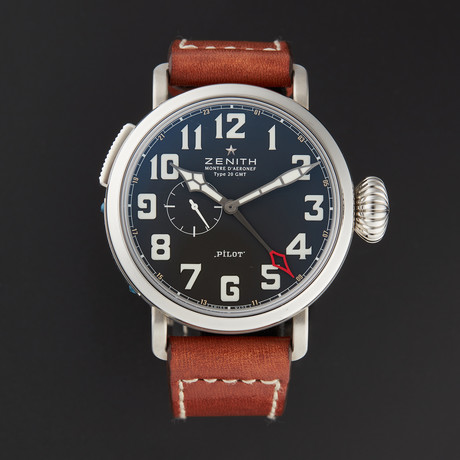 Zenith Pilot Montre D'Aeronef Type 20 GMT Automatic // 03.2430.693/21.C723 // Store Display