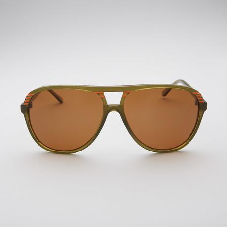 Watson // Olive + Orange Polar