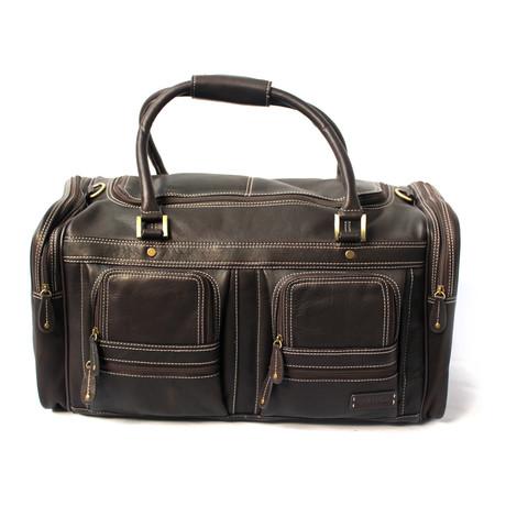 Cartago Travel Bag // Dark Brown
