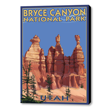 American Cities And National Parks Canvas Travel Prints
