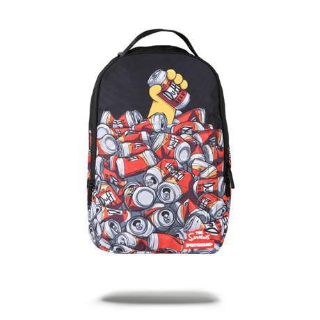 Simpsons Duff Beer Jammed Backpack