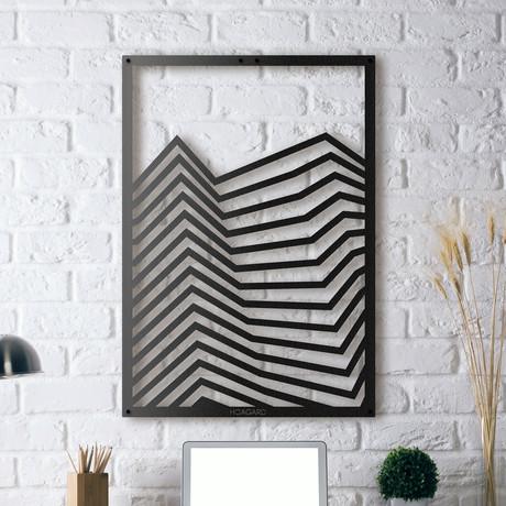 "Lines // Framed (14""W x 20""H x 0.5""D)"