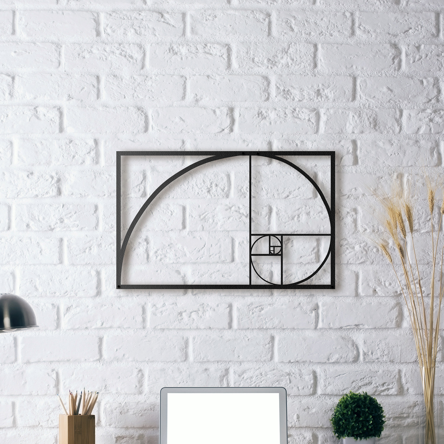 golden ratio metal posters touch of modern