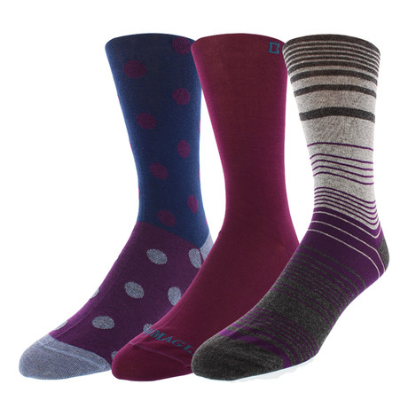 Dress Socks // Fade Out // Pack of 3