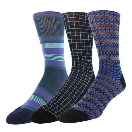Dress Socks // Tron // Pack of 3
