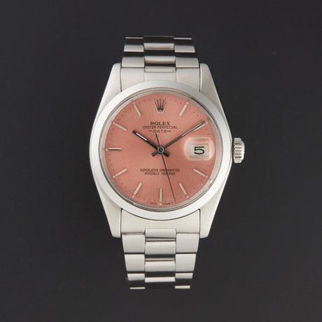 Rolex Date Automatic // 1500 // 760-S7314370 // Pre-Owned