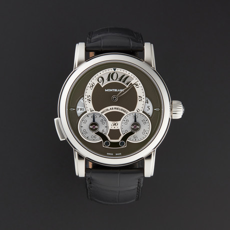 Montblanc 108790 Nicolas Rieussec Rising Hours Chronograph Automatic // 108790 // Pre-Owned