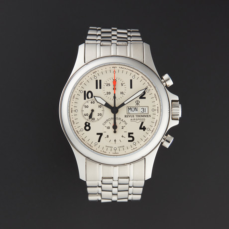 Revue Thommen Air Speed Heritage Chronograph Automatic // 17081.6138 // New