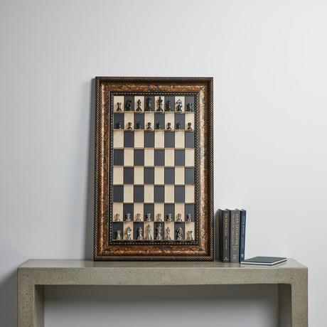 Vertical Chess Board // Maple
