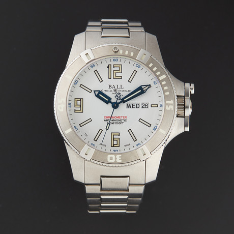 Ball Engineer Hydrocarbon Spacemaster Automatic // DM2036A-SCAJ-WH // Store Display