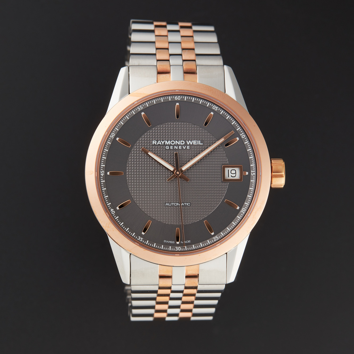Raymond Weil Freelancer Automatic // 2740-SP5-60021 // Store Display ...