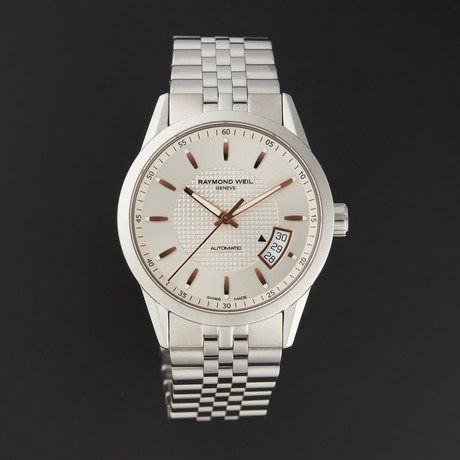 Raymond Weil Freelancer Automatic // 2770-ST5-65021 // Store Display