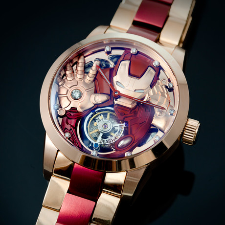 Memorigin Avenger 2 Iron Man Tourbillion Manual Wind // Hong Kong Edition // MV 0423 // 4894379460185
