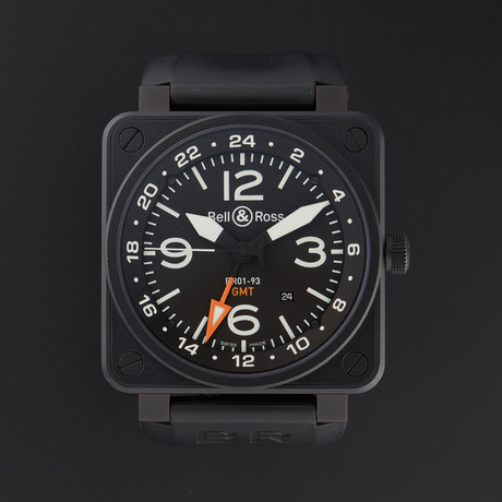 Bell & Ross Aviation GMT Automatic // BR01-93-GMT // Store Display