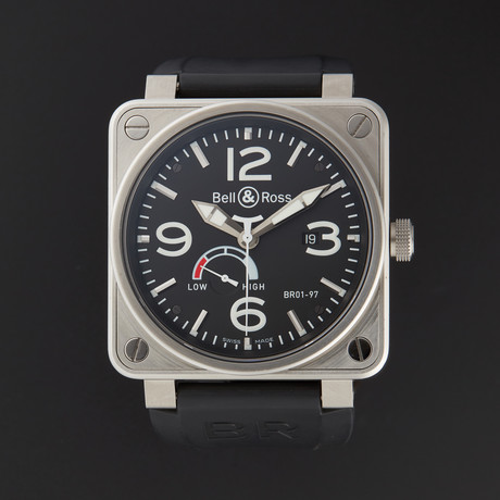 Bell & Ross Aviation Power Reserve Automatic // BR01-97-ST // Store Display
