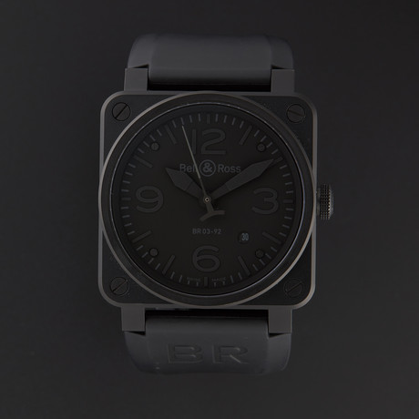 Bell & Ross Aviation Automatic // BR03-92-PHANT // Store Display