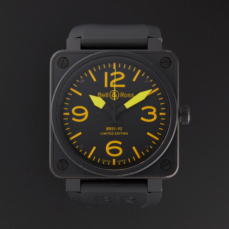 Bell & Ross Aviation Automatic // BR01-92-YELLOW // Store Display