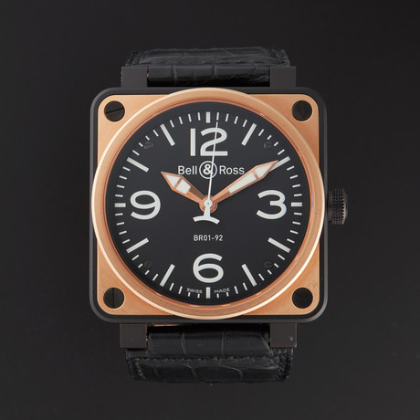 Bell & Ross Aviation Automatic // BR01-92-S/R // Store Display