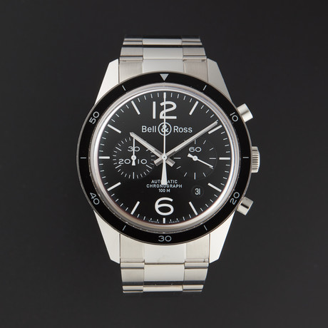 Bell & Ross Sport Chronograph Automatic // BR126-BLACK // Store Display
