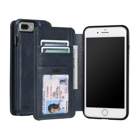 Wallet Book // Denim
