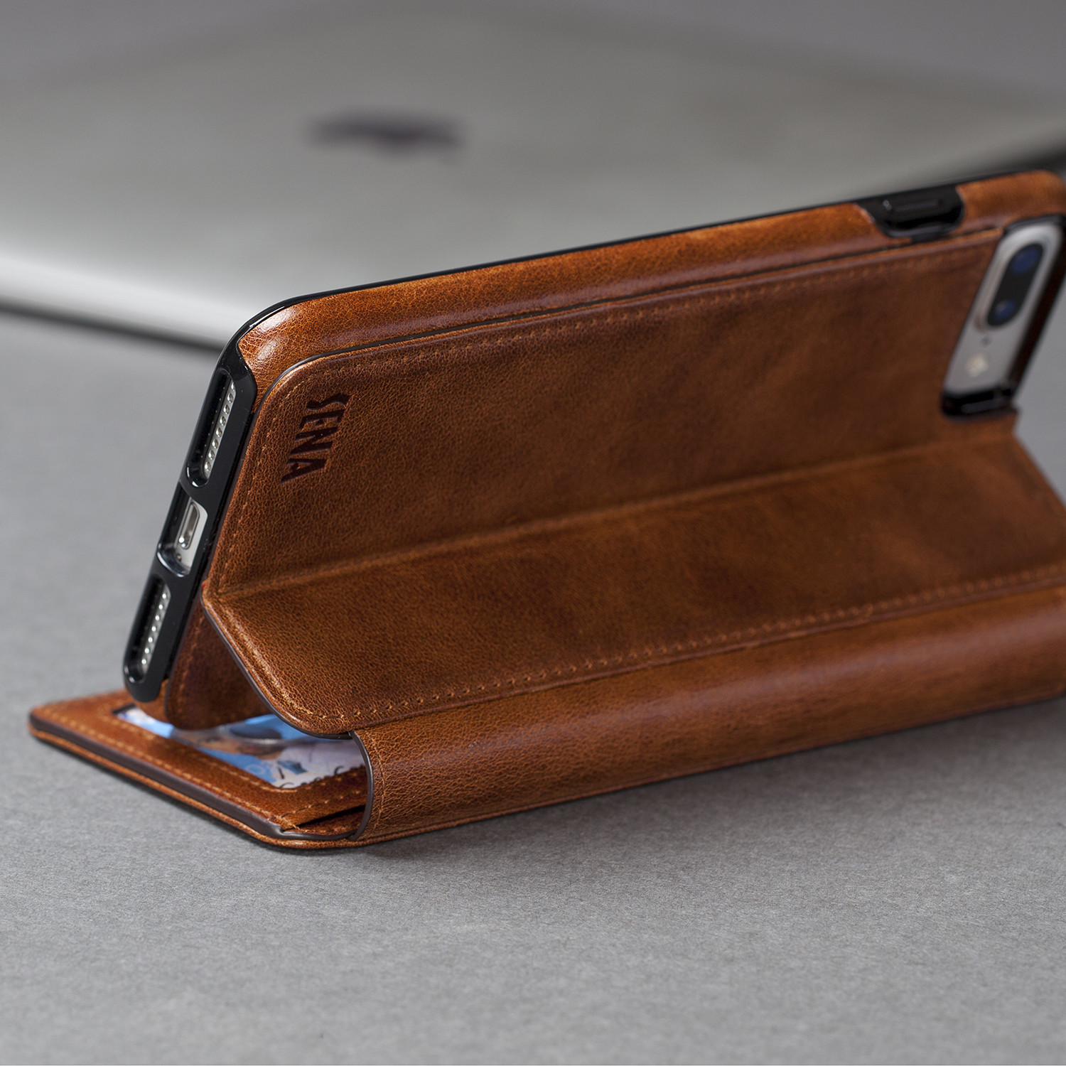 finest selection 3ec2b 66851 Wallet Book // Cognac (iPhone 7) - Sena Cases - Touch of Modern