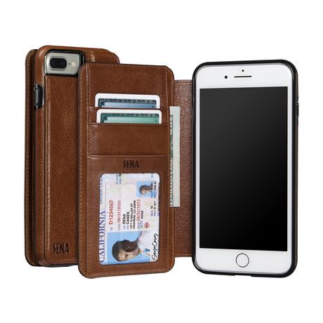 Wallet Book // Cognac