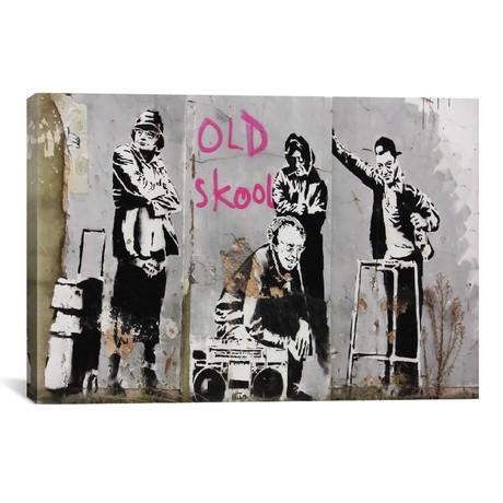 "Old Skool (18""W x 26""H x 0.75""D)"