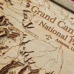 """Grand Canyon (21""""W x 12""""H x 2""""D)"""